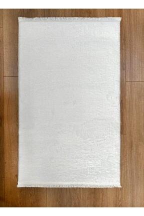 Markaev Beyaz Kaymaz Yıkanabilir Halı
