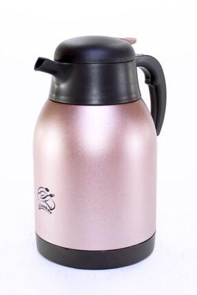 Cooker Ckr2025 Pembe 2.0 Litre 304 Paslanmaz Çelik Çay Ve Su Termosu 24 Saat Sıcak Soğuk