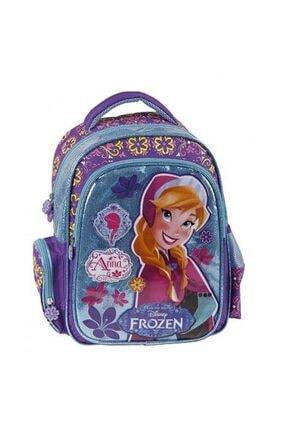 Yaygan Kız Çocuk Frozen Anna Mor Sırt Çantası