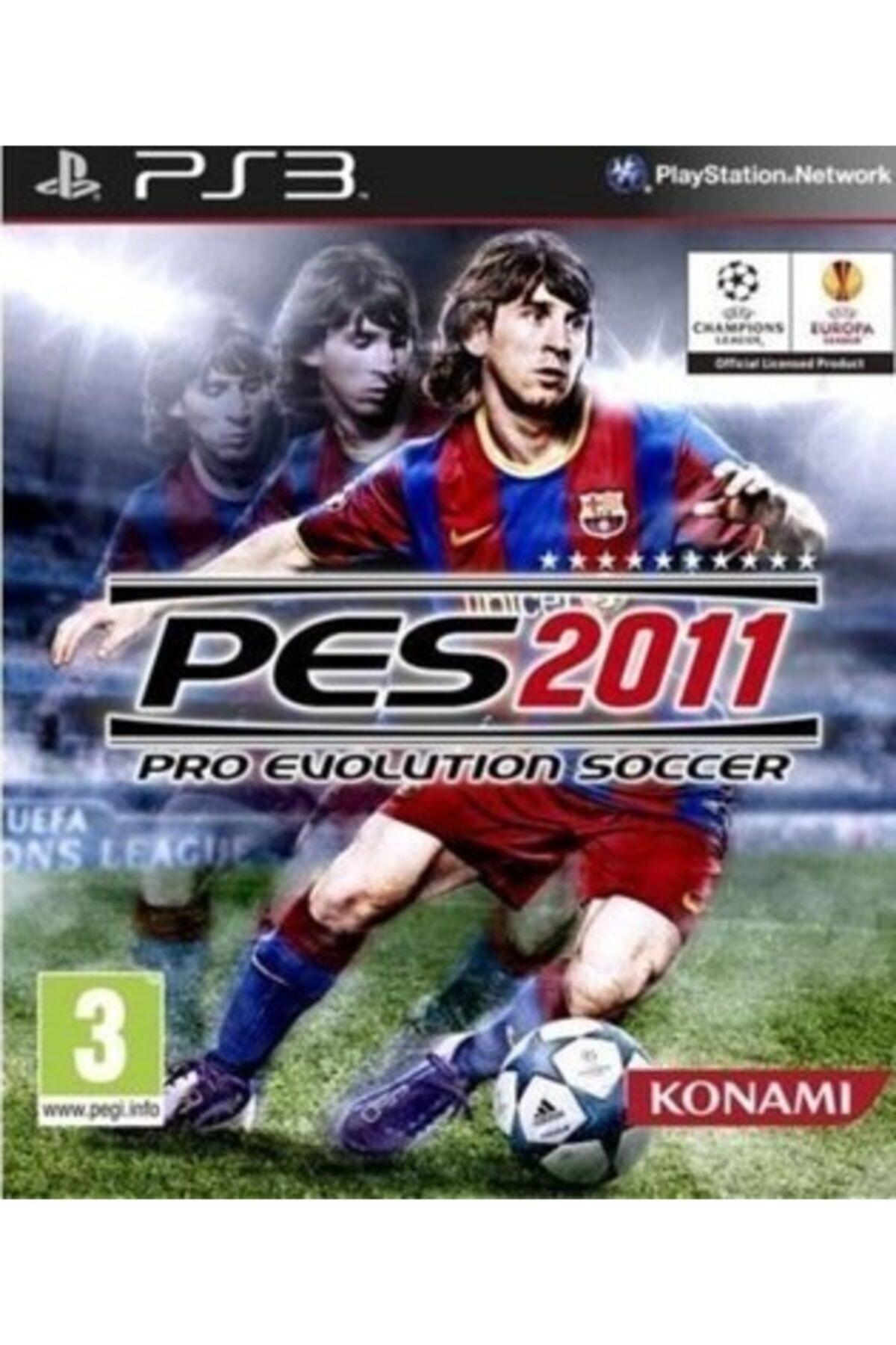 KONAMI Ps3 Pes 2011 - Orjinal Oyun - Sıfır Jelatin 1