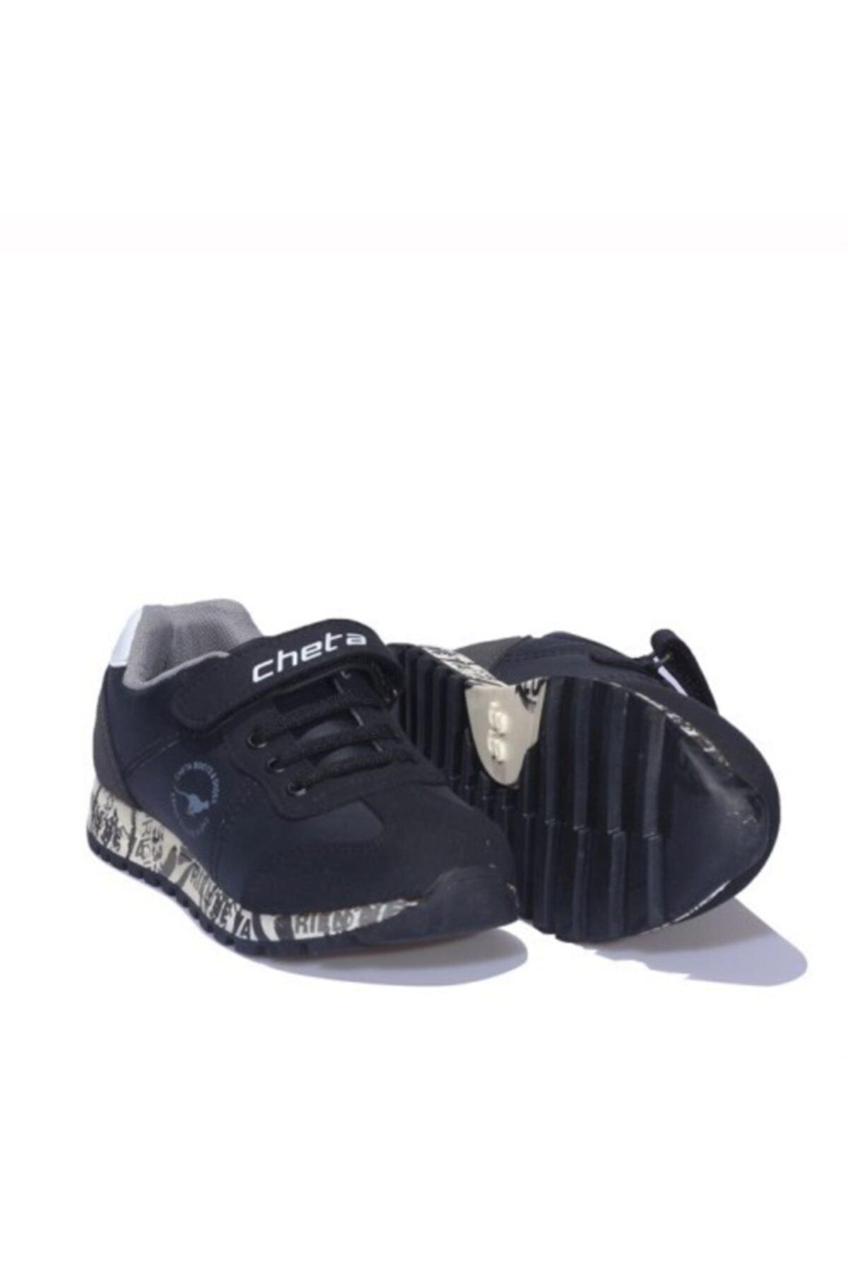Cheta Siyah Erkek Spor Ayakkabı 1
