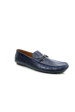 Beta Shoes Erkek Lacivert Deri Ayakkabı
