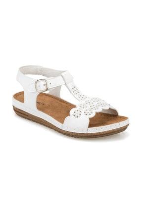 Polaris 91.158550.Z Beyaz Kadın Sandalet 100374779