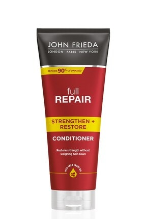 John Frieda İşlem Görmüş Saçlar için Onarıcı Bakım Kremi - Repair Strenghten & Restore 250 ml 5037156159677