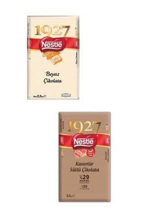 Nestle Beyaz Küvertür 2.5kg + Sütlü Küvertür 2.5kg