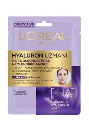 L'Oreal Paris Hyaluron Uzmanı Kağıt Yüz Maskesi