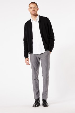 Dockers T3 BOMBER SWEATER MINERAL BLACK
