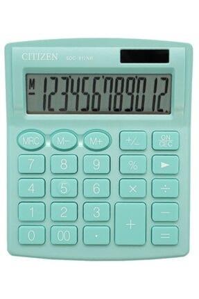 Citizen Su Yeşili Hesap Makinesi Sdc-812