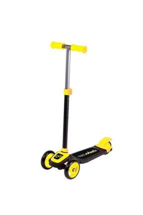 Furkan Toys Sarı Cool Wheels Twist Çocuk Scooter