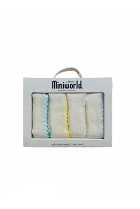 Miniworld 4'lü Muslin Mendil