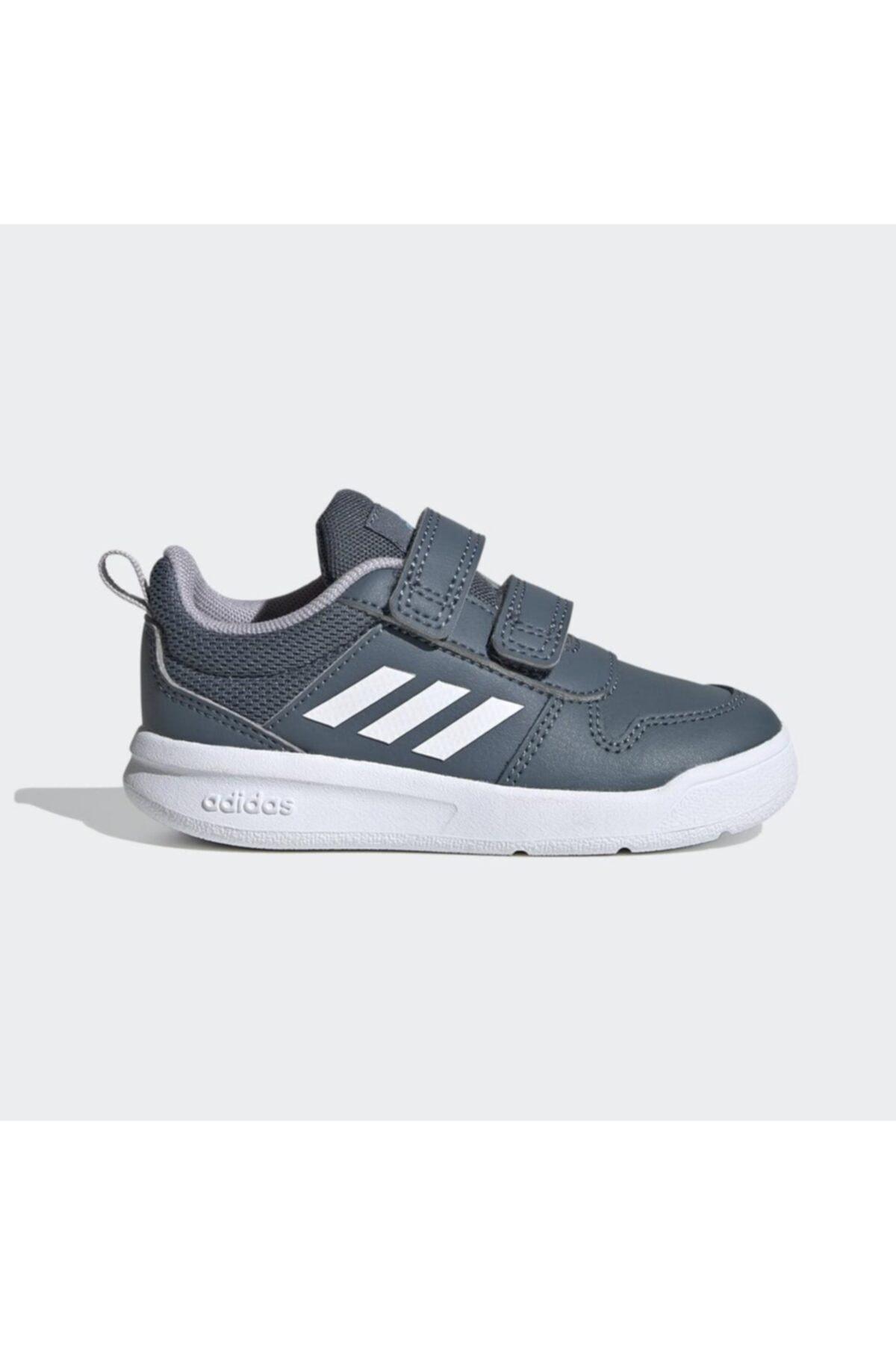adidas TENSAUR I Koyu Gri Erkek Çocuk Koşu Ayakkabısı 100663759 1