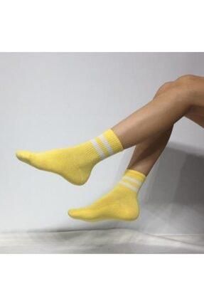 ADEL ÇORAP Unisex Sarı Çorap