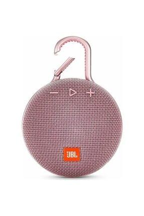 JBL Clip 3 Ipx7 Su Geçirmez Taşınabilir Bluetooth Hoparlör Pembe
