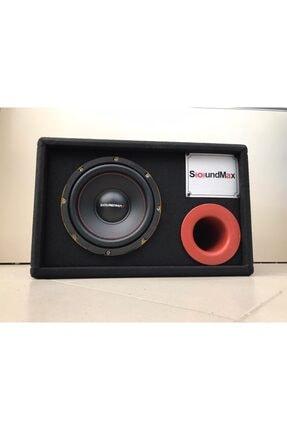 Soundmax Oto Bass Subwoofer Kabinli 20cm 800w Sx-fc8
