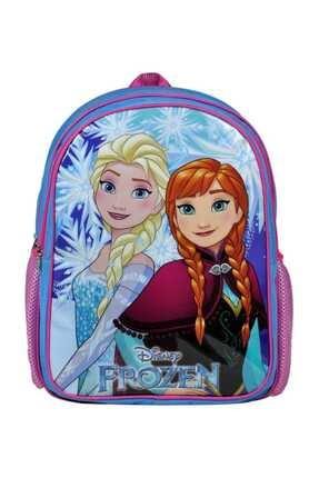 Frozen Elsa/anna Iki Bölmeli Lisanslı Ilkokul Çantası - Hakan 96465