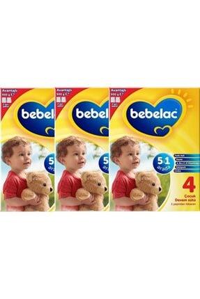 Bebelac 4 Çocuk Devam Sütü 1 Yaşından Itibaren 900 Gr X3 Adet
