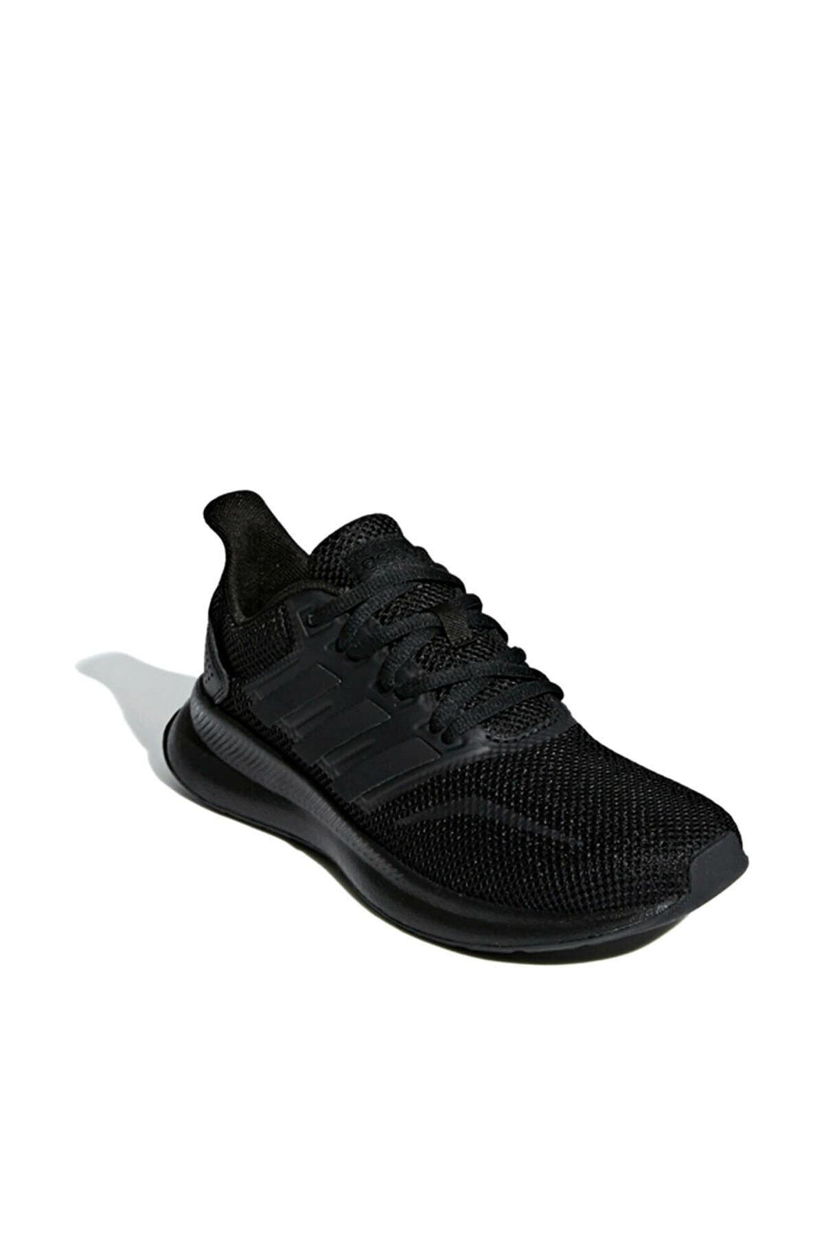 adidas Runfalcon K Siyah Unisex Koşu Ayakkabısı 1