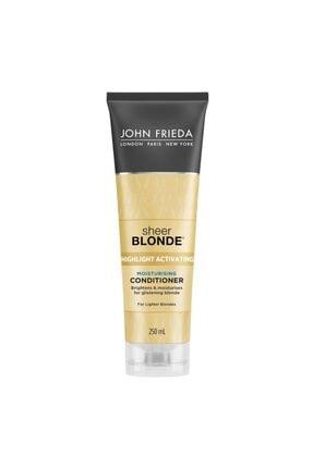 John Frieda Sarı Saçlara Özel Nemlendirici Saç Kremi 250 Ml