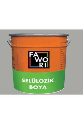 Fawori Favori Selülozik Parlak Boya Alüminyum Gri 2.5 Kg.