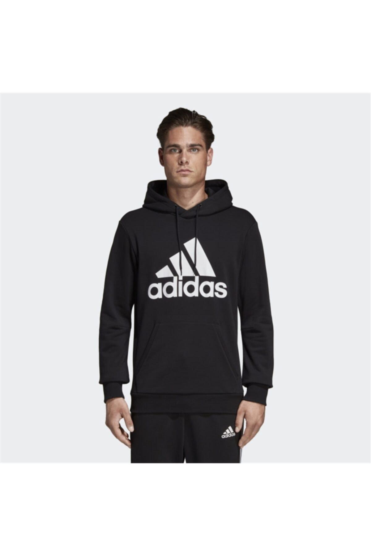 adidas MH BOS PO FT Erkek Sweatshirt 1