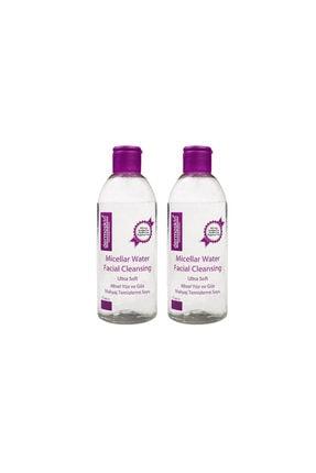 Dermoskin Micellar Water Yüz-Makyaj Temizleme Suyu 2'li 800 ml