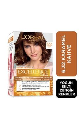 L'Oreal Paris Saç Boyası - Excellence Intense 6.32 Karamal Kahve