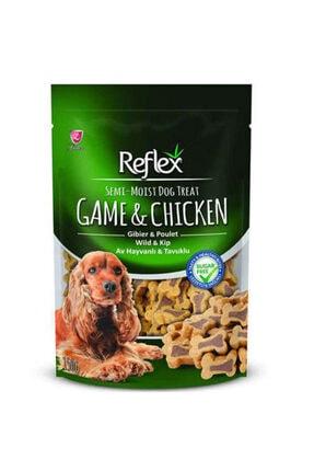 Reflex Plus Av Hayvanı Tavuk Parçalı Küçük Irk Köpek Ödülü 150 gr