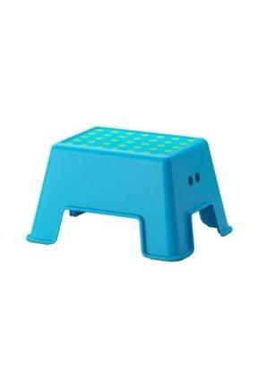 BARBUN Ikea Bolmen Tabure Bebek Çocuk Banyo Taburesi Mavi -kargo Bedava
