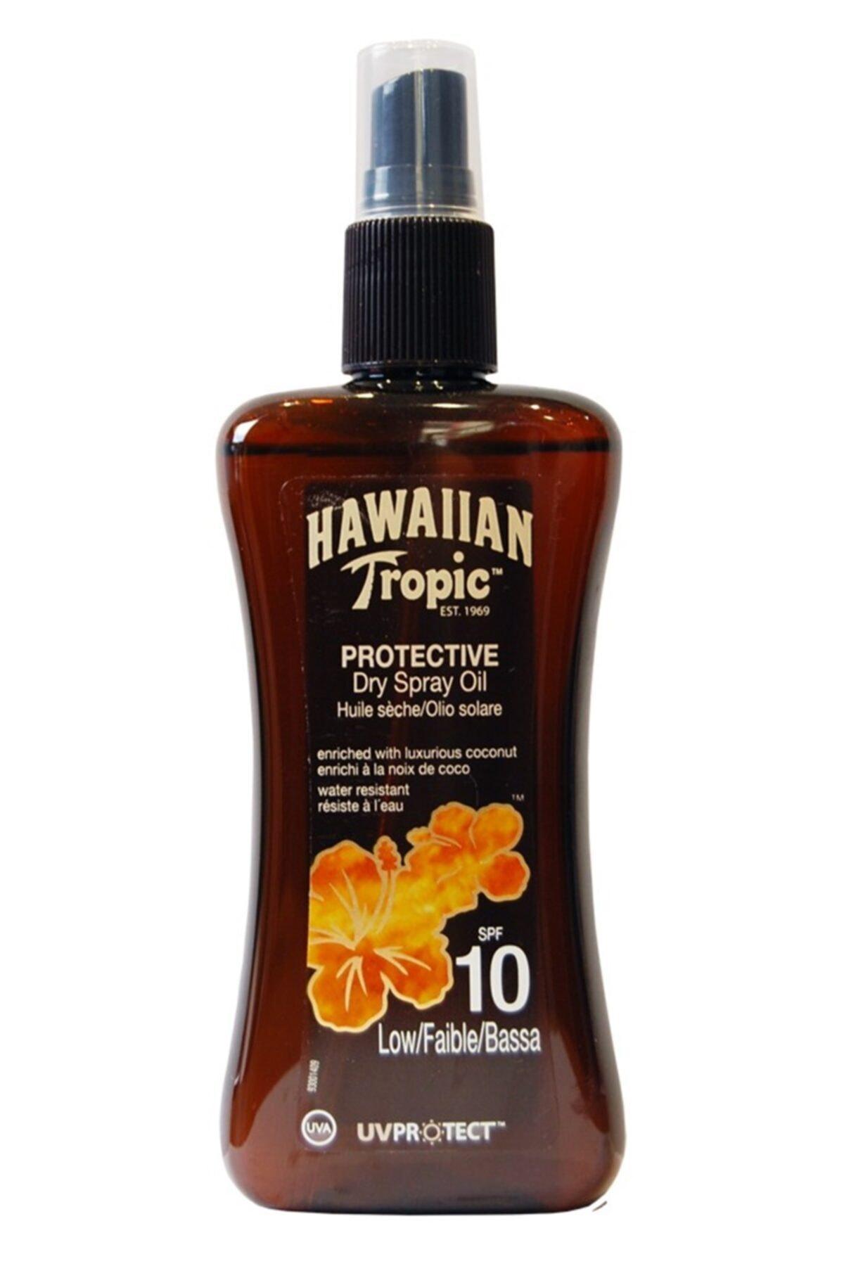 Hawaiian Tropic Hawaııan Tropic Bronzlaştırıcı Yağ Spreyi Spf 10 200 Ml 1