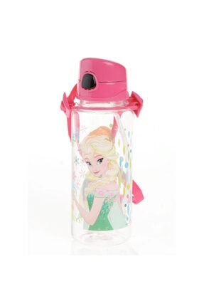 Hakan Çanta Frozen Elsa Lisanslı Kız Çocuk Okul Suluk - Matara 500 ml Pembe
