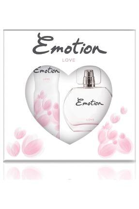 Emotion Deodorant Seti Love Edt 50 ml Kadın Parfüm 150 ml