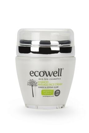 Ecowell Organik Ginkolu Diamond Serisi Yaşlanma Karşıtı Yüz Bakım Kremi - 50 ml