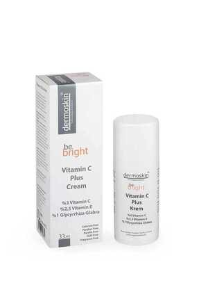Dermoskin Be Bright Leke Giderici ve nemlendirici Vitamin C Plus Krem 33 ml