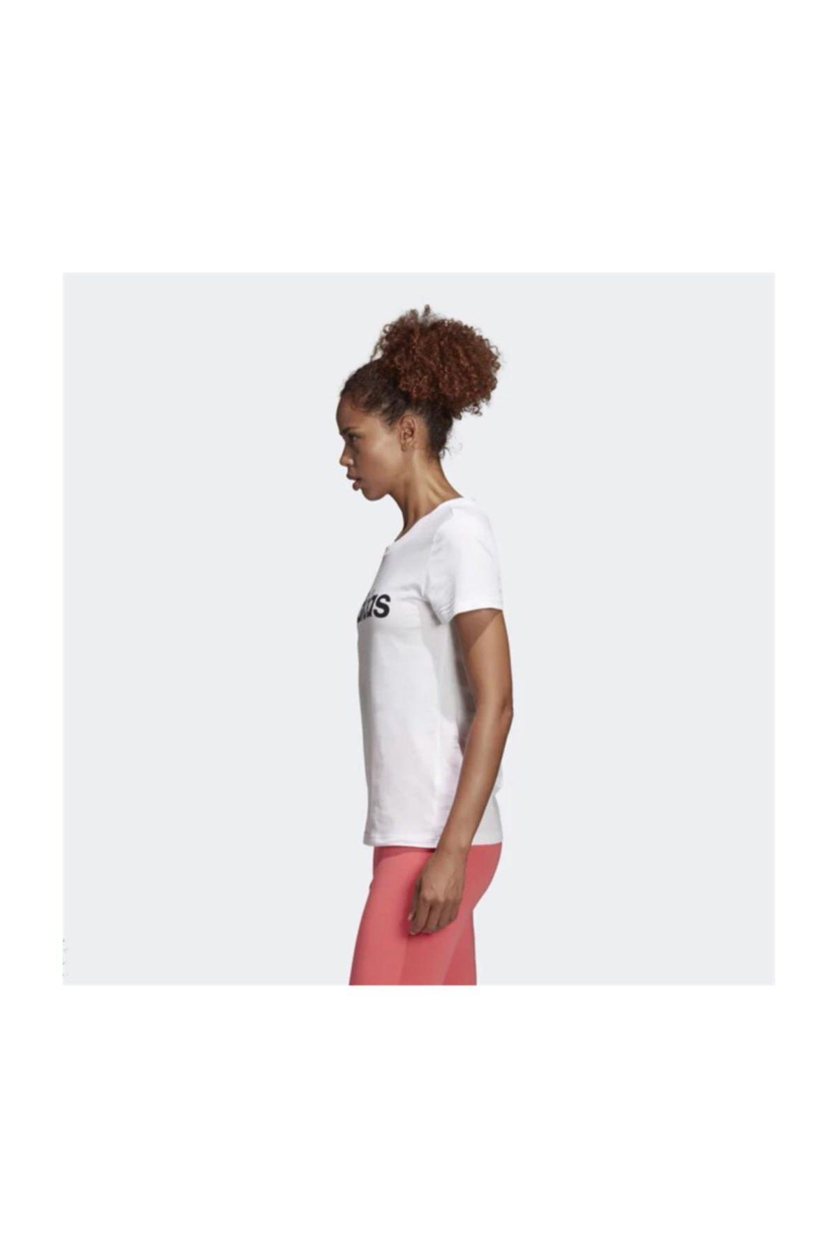 adidas W E LIN SLIM T Kadın Tişört 2