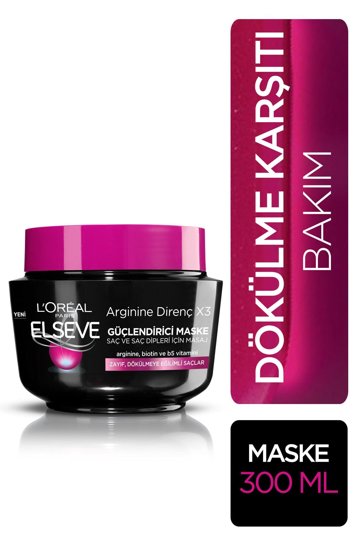 ELSEVE L'oréal Paris Arginine Direnç Dökülme Karşıtı Maske 300 ml 2
