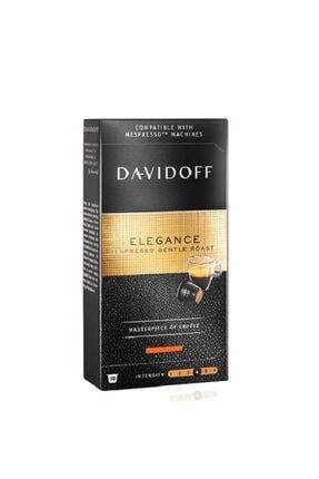 Davidoff Elegance Espresso Gentle Roast Nespresso Uyumlu 10 Adet Kapsül