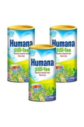 Humana Still Tee Emziren Anneler Için Hazır Çay 3'lü Avantaj Paketi 200 Gr