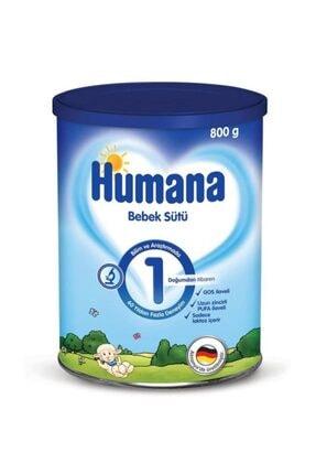 Humana 1 Bebek Sütü 800gr Metal Kutu