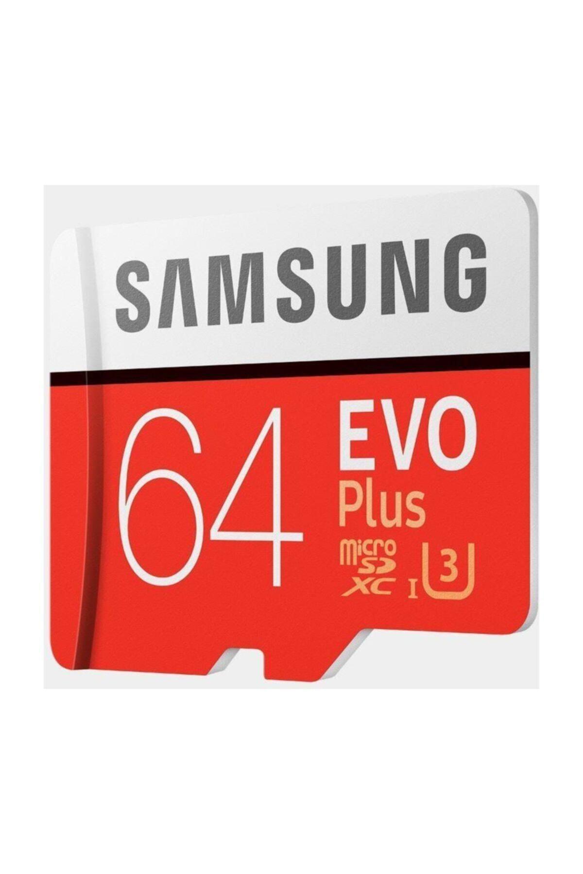 Samsung Evo Plus 64gb 100 Mb/s Microsdxc Kart Mb-mc64ga/tr 2
