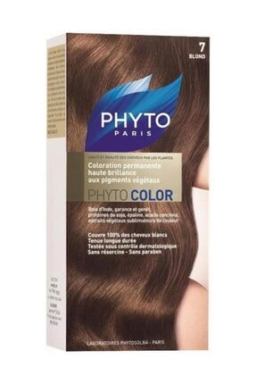 Phyto Sarı Saç Boyası - Phytocolor 7 Kit 618059109638