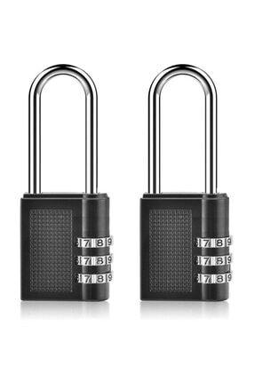 MasterCare Tudor 2 ADET Şifreli Asma Kilit 712080