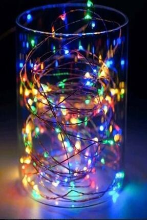 Parti dolabı Peri Led Işık 5 Metre (rgb) Renkli Işık