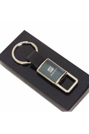 Venlo Pen Seat Logolu Metal Gümüş Kutulu Anahtarlık