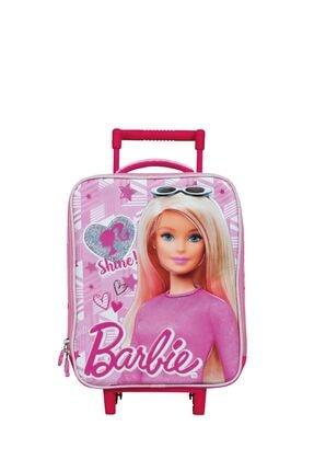 Barbie Kız Çocuk Box Shine Tekerlekli Anaokulu Çantası 5043