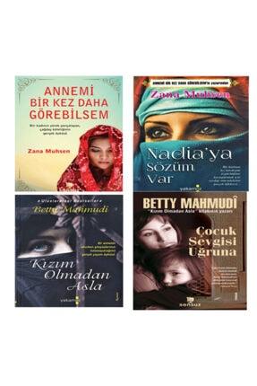 Yakamoz Yayınları Annemi Bir Kez Daha Görebilsem-nadia'ya Sözüm Var-kızım Olmadan Asla-çocuk Sevgisi Uğruna (4 Kitap)
