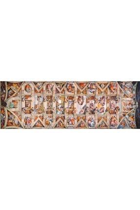 CLEMENTONI 1000 Parça The Sistine Chapel Ceiling Panorama Puzzle