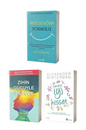 Yakamoz Yayınları Mutluluğun Formülü, Zihin Gücüyle Iyileşme Ve Kendini Iyi Hisset - 3 Kitap
