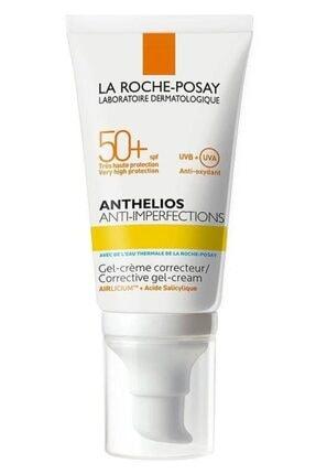 La Roche Posay La Roche-posay Anthelios Anti- Imperfections Spf50+ 50ml | Akneye Eğilimli Ciltler Için Güneş Kremi