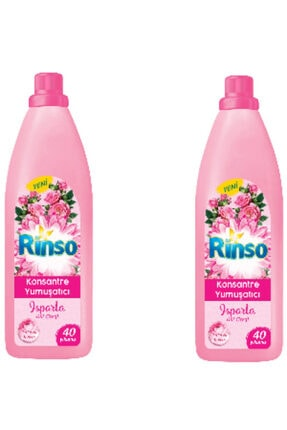 Rinso Konsantre Çamaşır Yumuşatıcı 960 Ml. X 2 Adet Isparta Gül Çiçeği