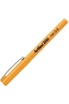 artline Artlıne Ek-200n Fıne Lıne Pen 0.4 Mm Yellow
